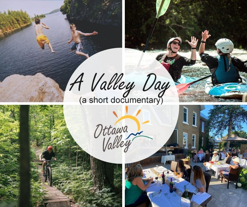 A Valley Day collage of activities